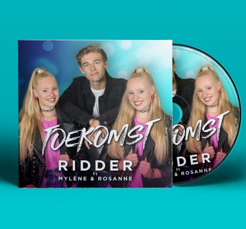 Ridder ft. Mylène & Rosanne – Toekomst – CD cover